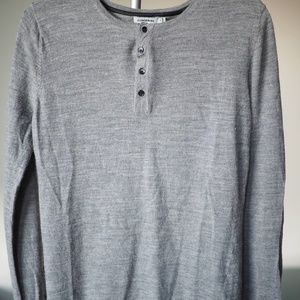 J. Lindeberg Grey Sweater Mens Medium